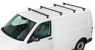 Dachträger t4 - montiert und einsatzbereit