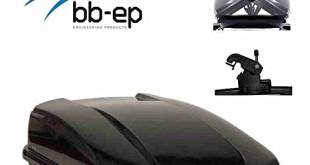 Jetbag - Exklusive Dachbox 580 Liter Beidseitig öffnend